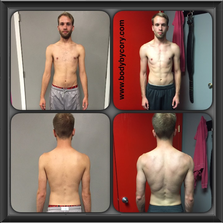client spotlight aaron one month