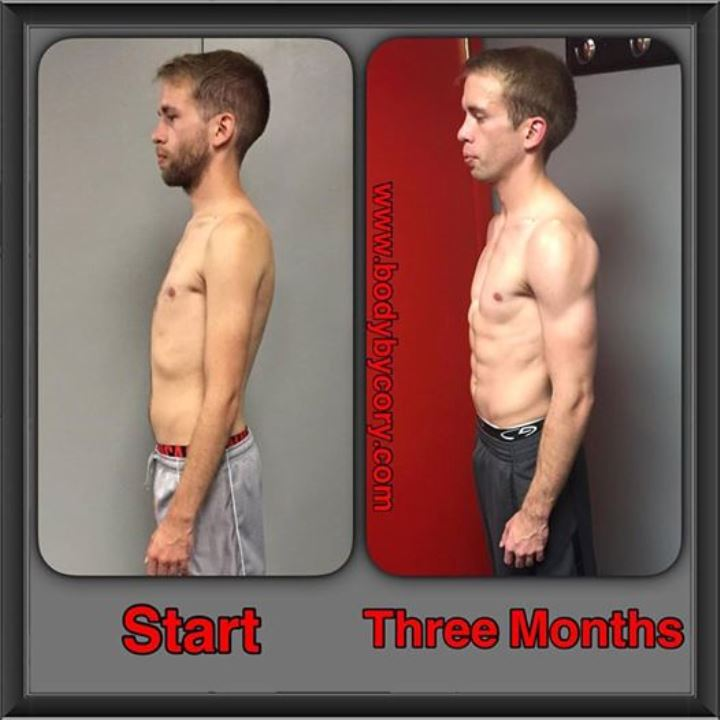 client spotlight aaron three months