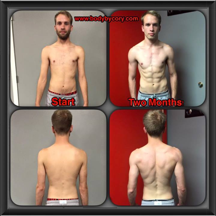 client spotlight aaron two months
